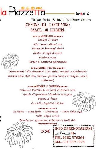 Capodanno Ristorante Extrò Pavia Foto