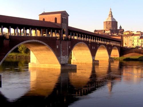 Il fiume Ticino Pavia